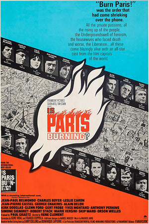 Is Paris Burning - 1966 - Movie Poster