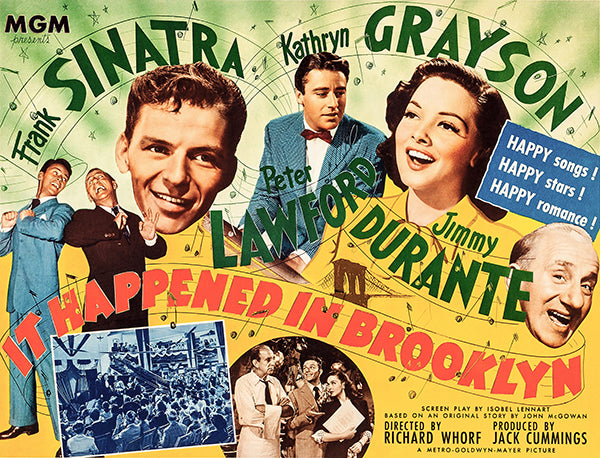 It Happened In Brooklyn - 1947 - Movie Poster