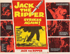 Jack The Ripper Strikes Again - 1960 - Movie Poster Magnet