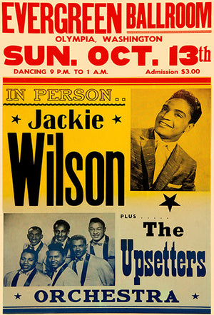 Jackie Wilson - The Upsetters - 1963 - Concert Magnet