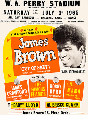 James Brown - 1965 - Concert Magnet