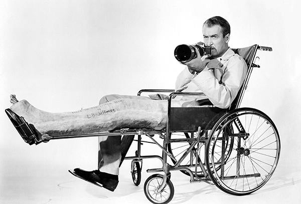 James Stewart - Rear Window - Movie Still Mug
