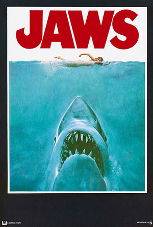 Jaws - 1975 - Movie Poster
