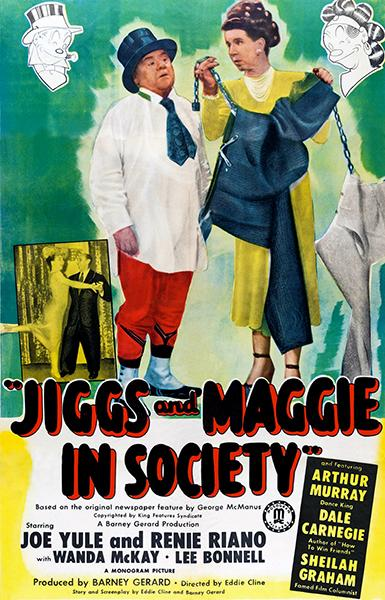 Jiggs And Maggie In Society - 1948 - Movie Poster Mug