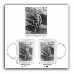 John MacReady - GE Supercharged Airplane - High Altitude Flight - 1923 - Photo Mug