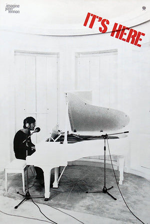 John Lennon - Imagine - 1971 - Album Release Promotional Poster