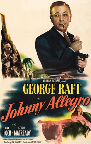 Johnny Allegro - 1949 - Movie Poster
