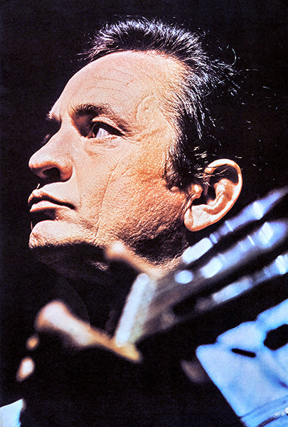 Johnny Cash - 1971 - Singer Portrait Poster