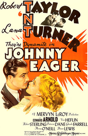 Johnny Eager - 1942 - Movie Poster