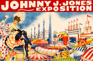 Johnny J. Jones Exposition - 1930's - Circus Poster