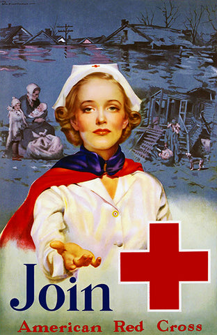 Join - American Red Cross - 1939 - Propaganda Poster