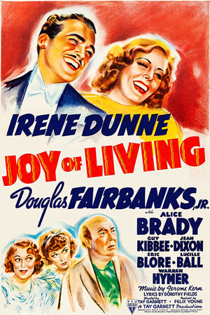 Joy Of Living - 1938 - Movie Poster Mug