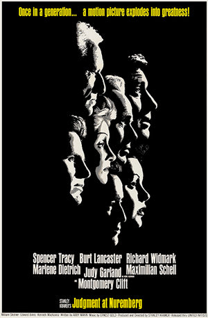 Judgment At Nuremberg - 1961 - Movie Poster Mug