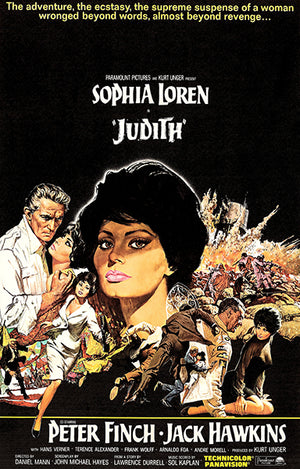 Judith - 1966 - Movie Poster
