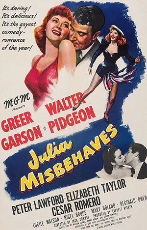 Julia Misbehaves - 1948 - Movie Poster