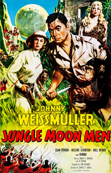 Jungle Moon Men - 1955 - Movie Poster