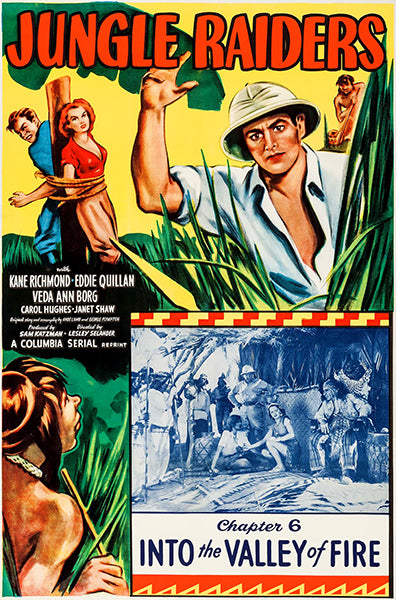 Jungle Raiders - 1953 - Movie Poster