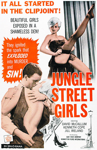 Jungle Street Girls - 1960 - Movie Poster