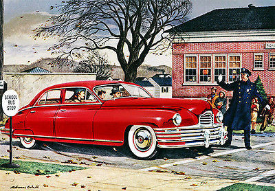 1948 Packard - Promotional Advertising Poster