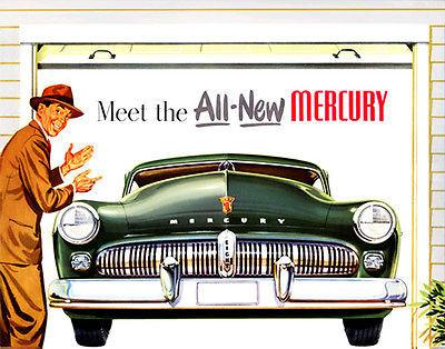Meet the All-New 1949 Mercury - Promotional Advertising Mug