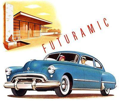 1948 Oldsmobile Futuramic - Promotional Advertising Mug