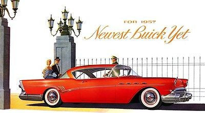 1957 Buick Roadmaster - Promotional Advertising Poster