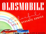 1948 Oldsmobile Dynamic Series - Promotional Advertising Poster