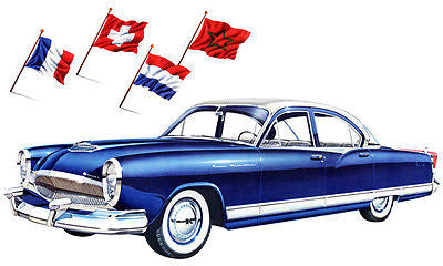 1954 Kaiser Manhattan - Promotional Advertising Poster