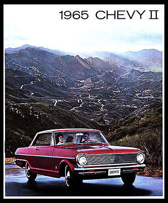 1965 Chevrolet Chevy II - Promotional Advertising Poster