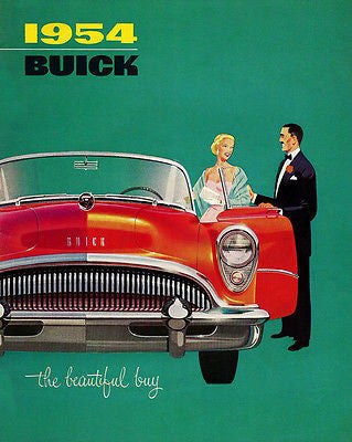 1954 Buick - Promotional Advertising Poster