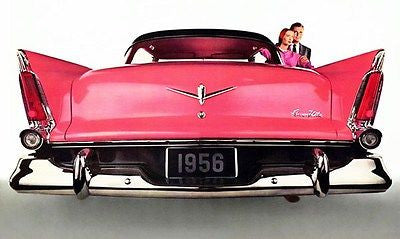 1956 Plymouth Belvedere - Promotional Advertising Poster