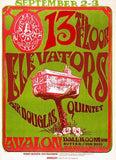 13th Floor Elevators - Sir Douglas Quintet - 1966 - Avalon Ballroom - Concert Poster Mug