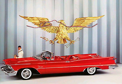 1958 Chrysler Imperial Convertible - Promotional Advertising Poster