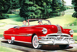 1952 Pontiac Convertible - Promotional Advertising Poster