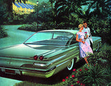 1960 Pontiac Ventura Sports Coupe - Promotional Advertising Poster