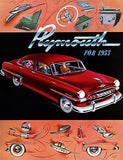1953 Plymouth - Promotional Advertising Poster