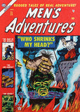 Men's Adventures #25 - Shrunken Head - Jan 1954 - Comic Book Cover Poster