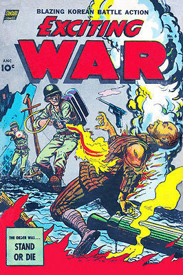 Exciting War #6 - Comic Book Cover Poster