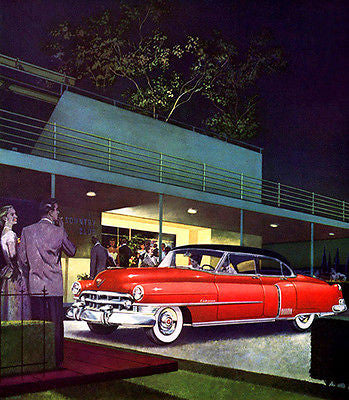 1950 Cadillac Fleetwood 60 Special - Promotional Advertising Poster
