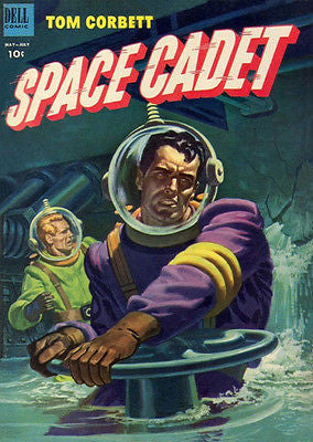 Tom Corbett, Space Cadet #6 - Comic Book Cover Poster