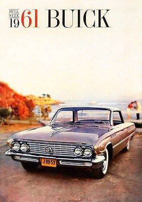 1961 Buick - Promotional Advertising Poster