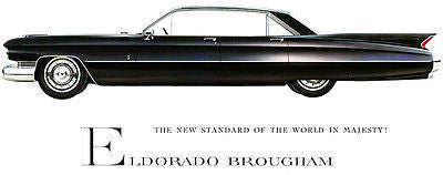 1959 Cadillac Eldorado Brougham - Promotional Advertising Poster