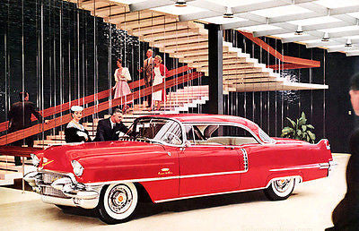 1956 Cadillac Series 62 Coupe de Ville - Promotional Advertising Poster