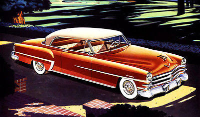 1953 Chrysler New Yorker Deluxe - Promotional Advertising Poster