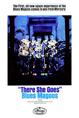 Blues Magoos - There She Goes - 1967 - Single Release Promo Poster