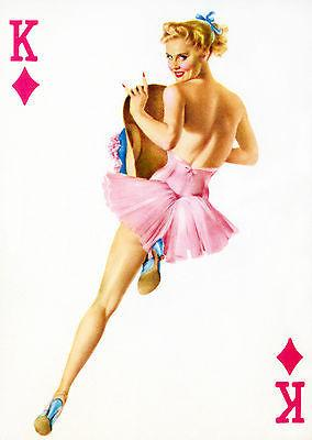 King of Diamonds 50's Pin Up Mug