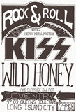 KISS - Wild Honey - 1973 - Long Island City NY - Concert Poster