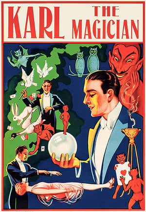 Karl The Magician - 1928 - Show Poster