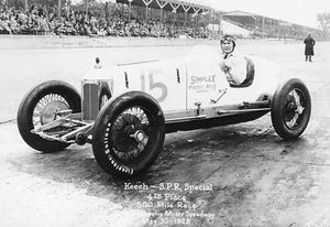 Keech SPR Special - Indianapolis 500 - 1928 - Photo Magnet