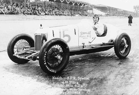 Keech SPR Special - Indianapolis 500 - 1928 - Photo Poster